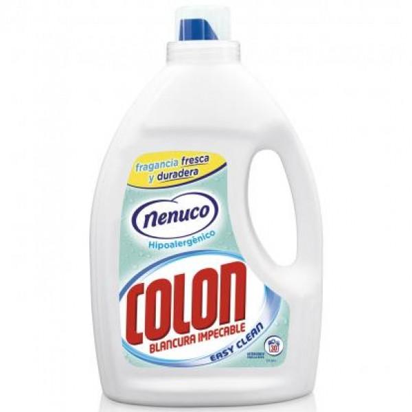 Colon Detergente gel blancura impecable fragancia nenuco gel activo 34 dosis