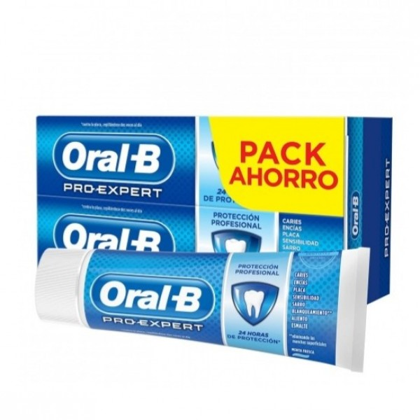 ORAL-B PRO EXPERT PROT.PROFESIONAL 2X100ML PROMO