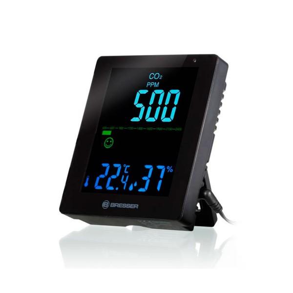 Bresser monitor co2 y calidad del aire negro