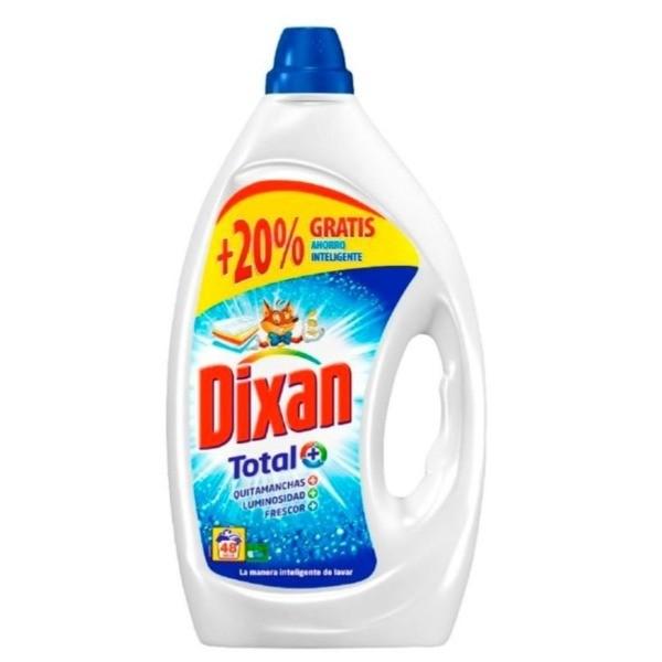 Dixan detergente Total 40 + 8 dosis GRATIS