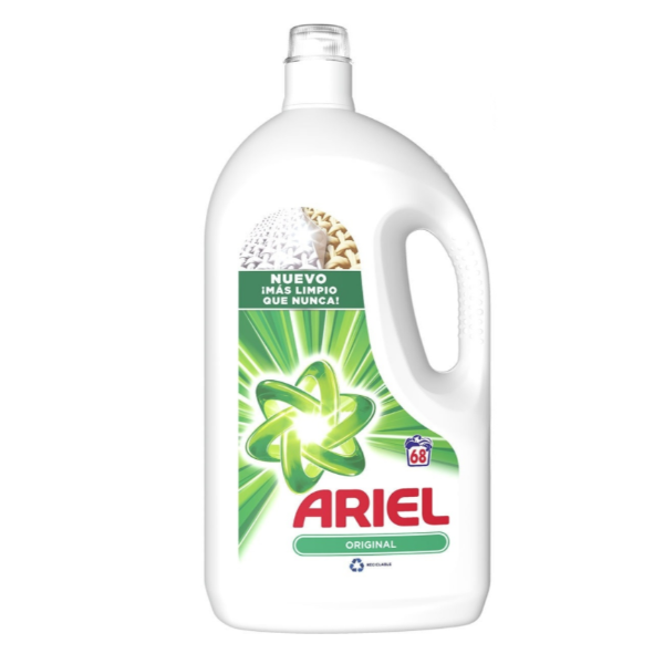 Ariel detergente Original 68 lavados