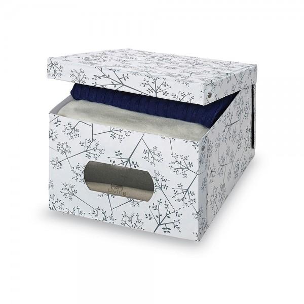 Caja guarda ropa vinilo l bon ton 39x50x24cm