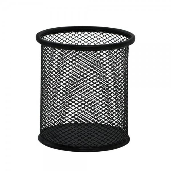 Cubilete portalápices  q-connect negro