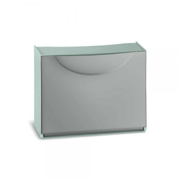 Zapatero harmony box gris 51x19x39cm